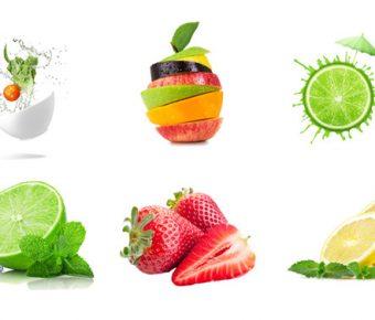 【PPT水果素材】完美的16張PPT水果素材模板下載,靜態透明背景圖片的範例格式