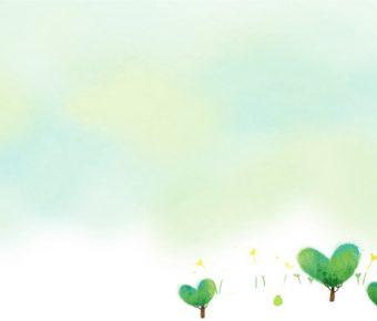 【清新綠背景】齊全的5張清新綠背景模板下載,靜態漸變色底圖的版型作業檔