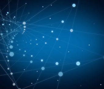 【科技主題背景】有設計感的6張科技主題背景模板下載,靜態粒子底圖的樣版檔