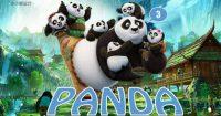 創作感的15頁精美《功夫熊貓3》PPT作品下載,動態樣版格式檔範本模板